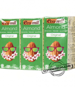 Ecomil Almond Milk Bio Organic 3 x 200 ml