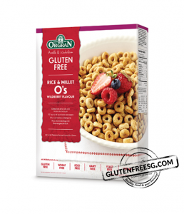 Orgran Rice & Millet O's Wildberry Flavour
