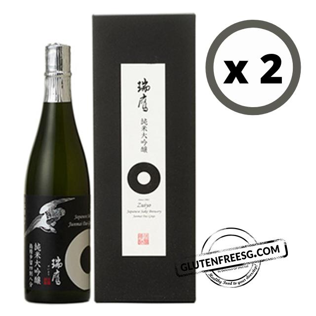Zuiyo Junmai Dai Ginjyo Gin 48% Sake