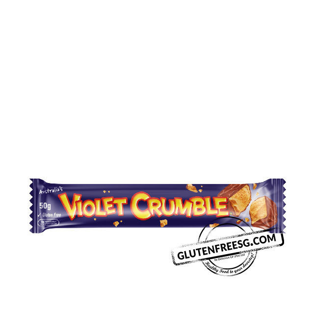 Violet Crumble Gluten Free Milk Chocolate Bar 50g