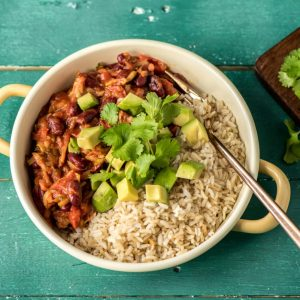 Easy Vegan Meal Mild Mexican Chili