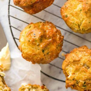 Cheddar Cheese Muffin with Wholesome Flour