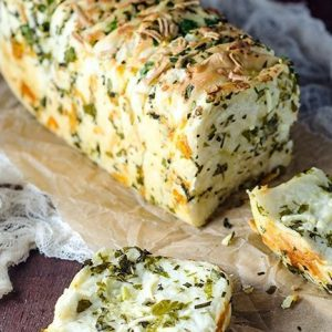 Sandwich Bread filled with Herbs